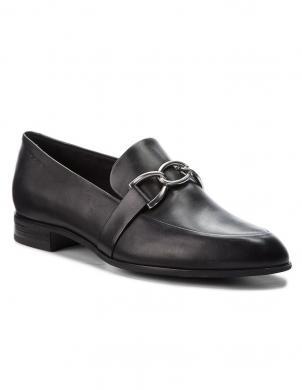 VAGABOND sieviešu melni ādas apavi