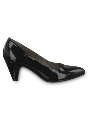 Sieviešu melni lakoti apavi TAMARIS