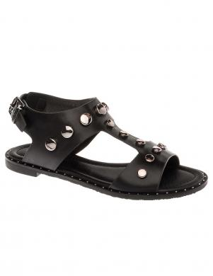 BETSY sieviešu melnas sandales