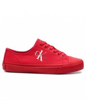 CALVIN KLEIN JEANS sieviešu sarkani apavi