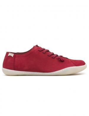 CAMPER sieviešu sarkani ādas brīva laika apavi PEU