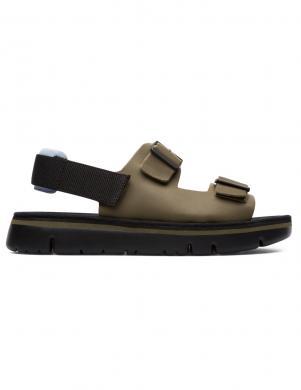 CAMPER vīriešu zaļas ādas sandales ORUGA