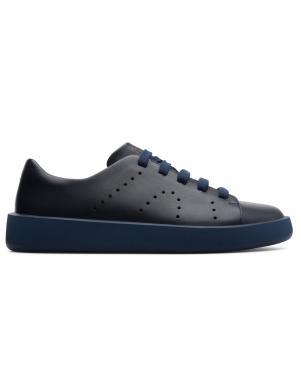 CAMPER vīriešu tumši zili ādas brīva laika apavi COURB