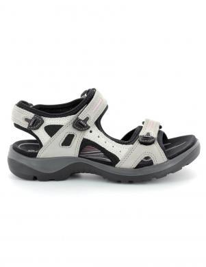 ECCO sieviešu pelēkas ādas sandales OFFROAD