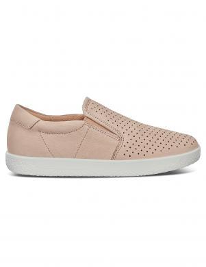 ECCO sieviešu krēmīgas krāsas ādas apavi SOFT 1