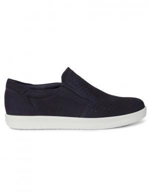 ECCO sieviešu tumši zili ādas apavi SOFT 1