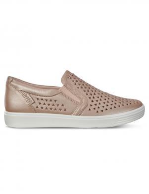 ECCO sieviešu ādas perforēti apavi SOFT 7
