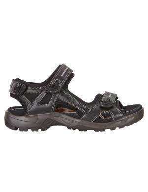 ECCO vīriešu melnas ādas sandales OFFROAD