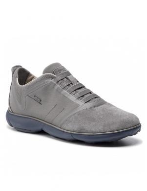 GEOX vīriešu pelēki brīva laika apavi