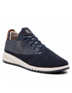 GEOX vīriešu tumši zili brīva laika apavi