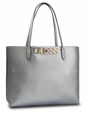 GUESS sudraba krāsas sieviešu soma