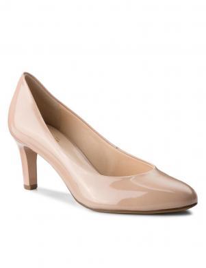 HOGL sieviešu krēmīgas krāsas lakoti augstpapēžu apavi STARLIGHT