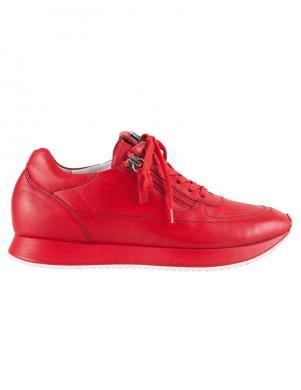 HOGL sieviešu sarkani ādas brīva laika apavi THE CLOUD