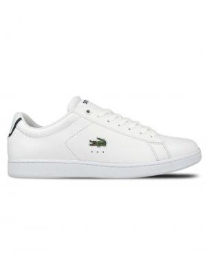 LACOSTE vīriešu balti ādas apavi