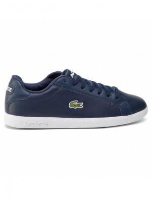 LACOSTE vīriešu zili ādas apavi