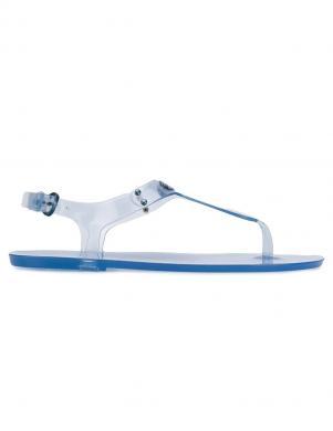 MICHAEL KORS sieviešu zilas sandales pār pirkstu PLATE