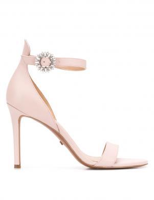 MICHAEL KORS sieviešu rozā ādas augstpapēžu sandales VIOLA