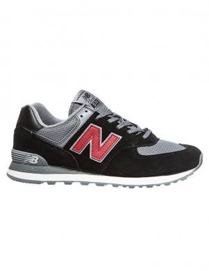 NEW BALANCE vīriešu melni brīva laika apavi