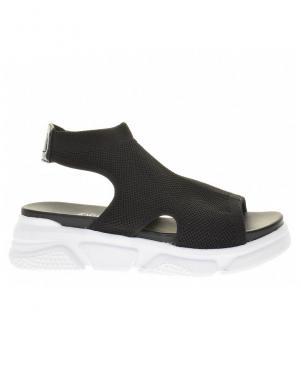 S.OLIVER sieviešu melnas brīva laika sandales
