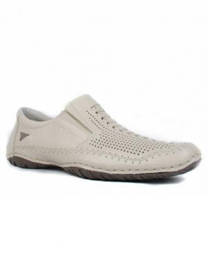 RIEKER vīriešu gaiši ādas apavi