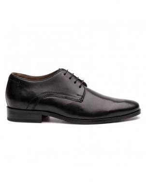 SALAMANDER vīriešu melni ādas klasiski apavi