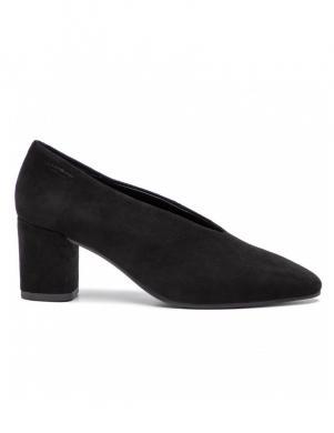 VAGABOND sieviešu melni ādas augstpapēžu apavi TRACY