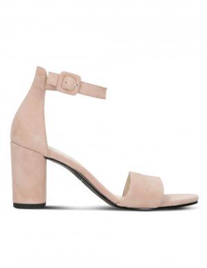 VAGABOND sieviešu gaišas ādas augstpapēžu sandales PENNY