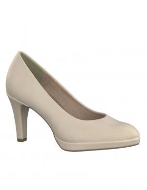 MARCO TOZZI sieviešu gaiši eleganti augstpapēžu apavi