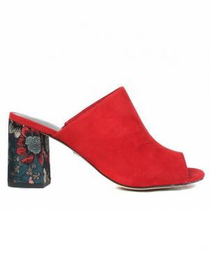 TAMARIS sieviešu sarkanas augstpapēžu sandales HEITI
