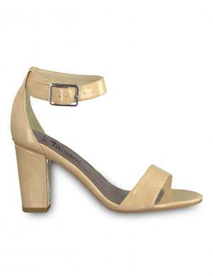 TAMARIS sieviešu lakotas augstpapēžu sandales HEITI