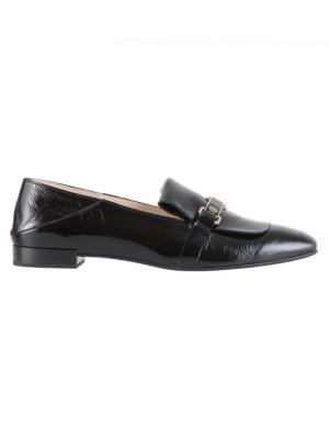 HOGL sieviešu melni ādas apavi BROCADE