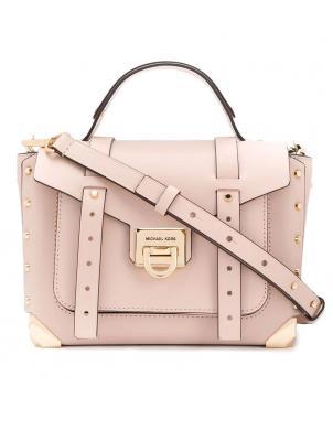 MICHAEL KORS rozā sieviešu ādas soma