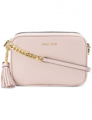 MICHAEL KORS rozā sieviešu ādas soma pār plecu