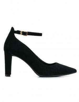 MICHAEL KORS sieviešu melni ādas apavi MILA