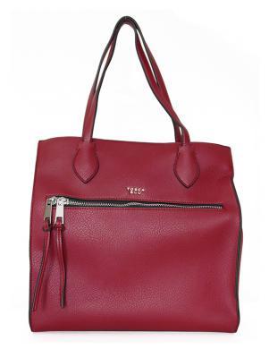 TOSCA BLU sarkana ļoti liela sieviešu soma