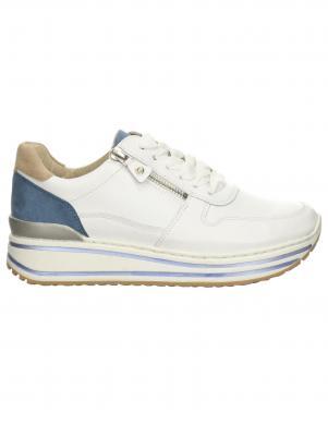 ARA sieviešu balti ādas brīva laika apavi PPORO HIGH-SOFT