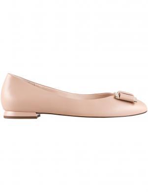 HOGL sieviešu krēmīgas krāsas ādas apavi HARMONY