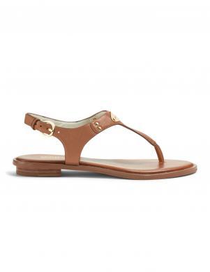 MICHAEL KORS sieviešu brūnas ādas sandales