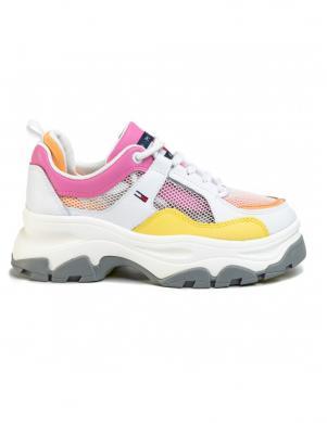 TOMMY JEANS sieviešu krāsaini brīva laika apavi