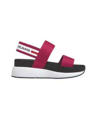 TOMMY JEANS sieviešu sarkanas sandales