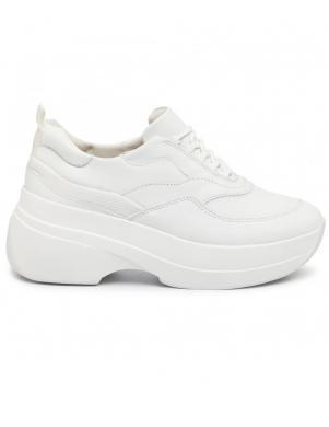 VAGABOND sieviešu balti ādas brīva laika apavi SPRINT