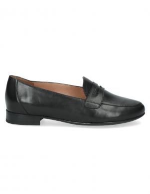 CAPRICE sieviešu melni ādas apavi