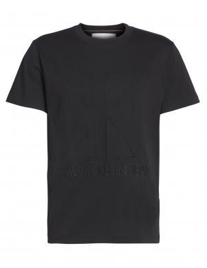 CALVIN KLEIN JEANS vīriešu melns krekls