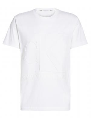 CALVIN KLEIN JEANS vīriešu balts krekls