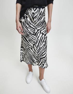 CALVIN KLEIN  krāsaini zebras raksta svārki