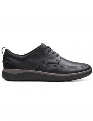CLARKS vīriešu melni klasiki apavi GARRATT STREET