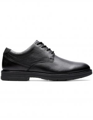 CLARKS vīriešu melni klasiki apavi BANNING PLAIN
