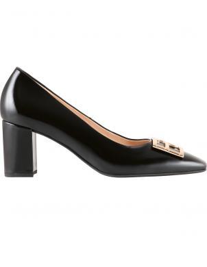 HOGL sieviešu melni augstpapēžu apavi ROSETTE