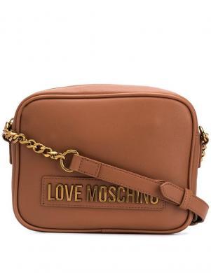 LOVE MOSCHINO sieviešu brūna soma pār plecu