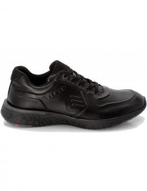 LLOYD vīriešu melni ādas ikdienas apavi